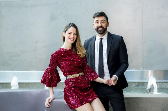 Danijela i Ognjen Amidžić