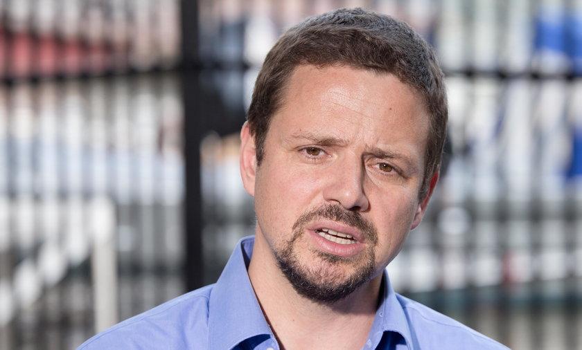 Rafał Trzaskowski z PO
