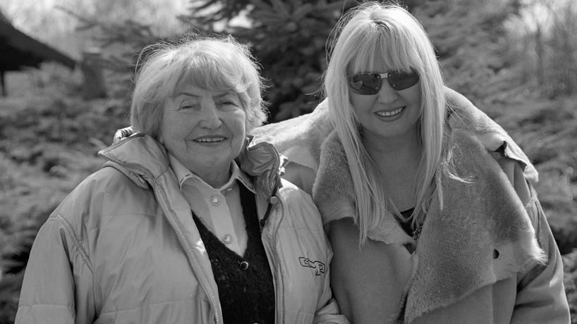 Maryla Rodowicz z mamą