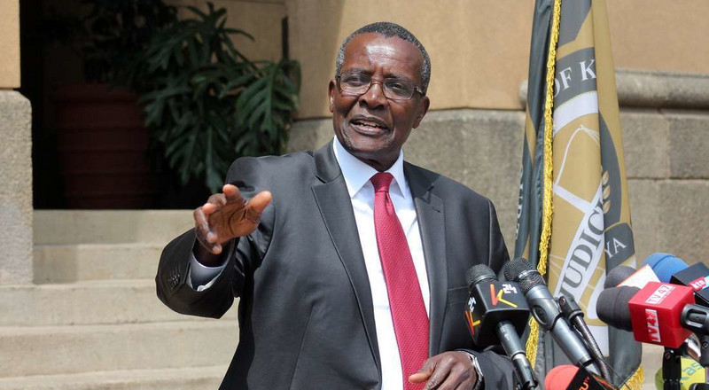 """Utado?"" attitude: CJ Maraga exposes how victims injured by gov't cars are suffering"