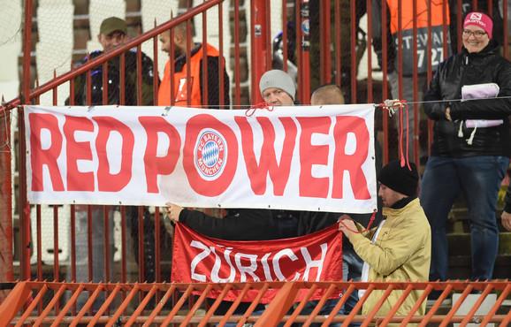 Navijači FK Bajern Minhen na