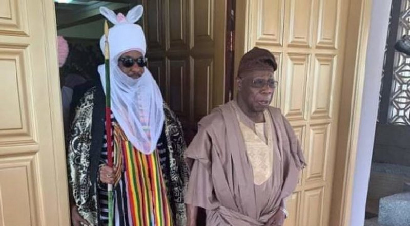 Emir Sanusi's dethronement is good and bad – Obasanjo reacts