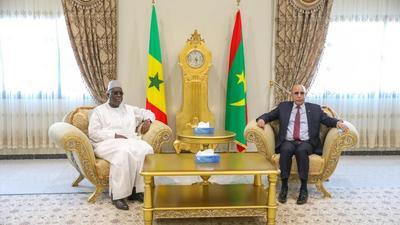 Macky signe sept accords avec la Mauritanie