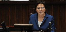 Zobacz, kto przyszedł do Sejmu wesprzeć Kopacz