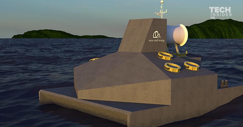 Prąd z fal. To urządzenie ma wykorzystać siłę oceanu