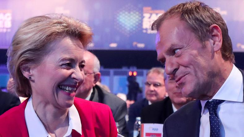 Ursula von der Leyen i Donald Tusk
