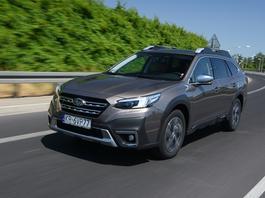 Nowe Subaru Outback 2.5i – w nim osiągi nie są najważniejsze