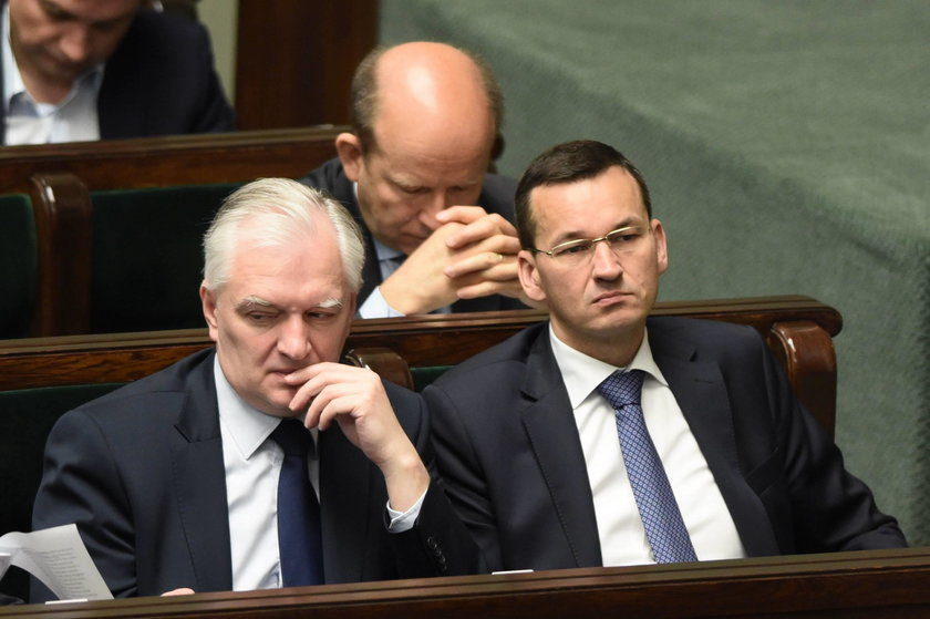 Mateusz Morawiecki, Jarosław Gowin i Konstanty Radziwiłł