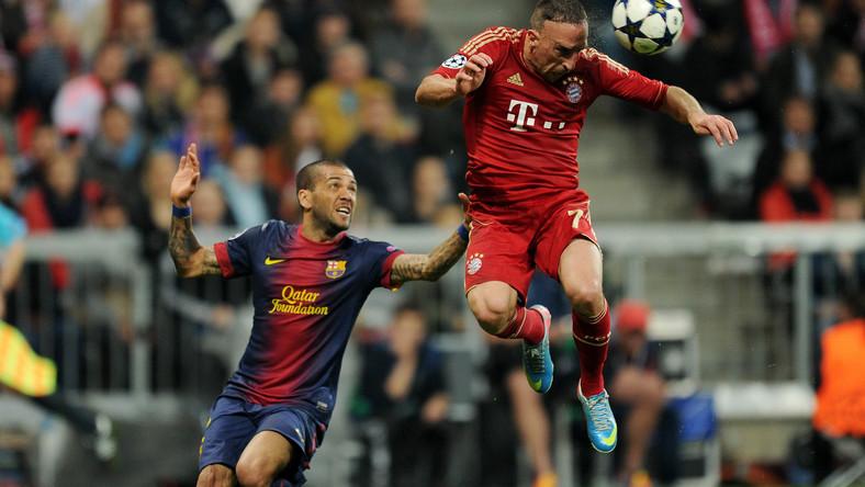Mecz Bayern - Barcelona