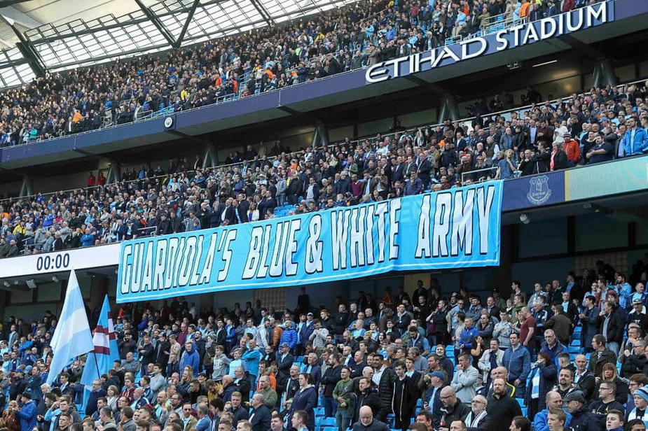 Kibice Manchesteru City
