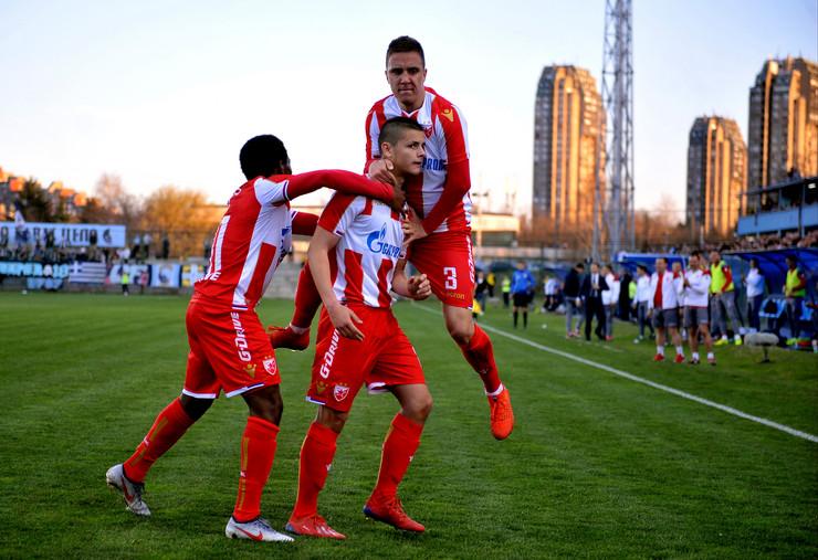 FK RAd, FK Crvena Zvezda