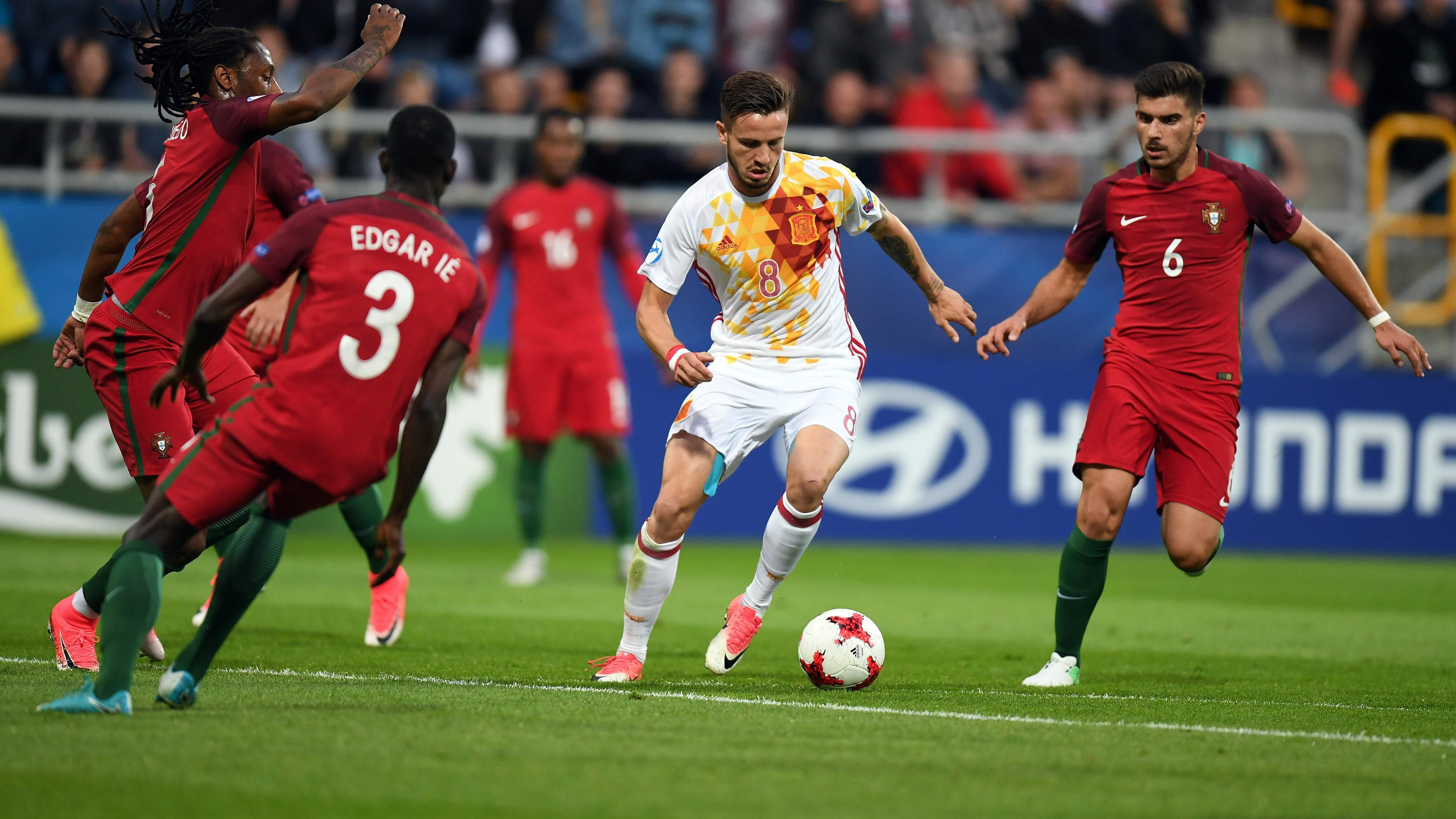 d75853362 Portugalia - Hiszpania: dwa cudowne gole ozdobą meczu Euro U21 - Piłka nożna