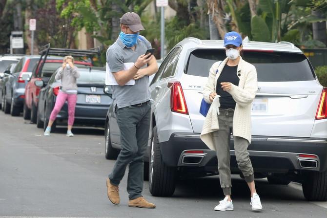Megan Markl i princ Hari u Los Anđelesu