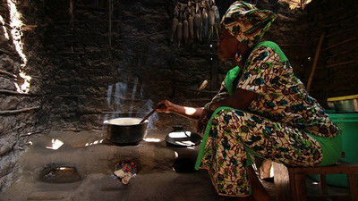 A woman's place is not entirely in the kitchen