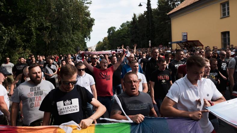 I Marsz Rownosci w Bialymstoku