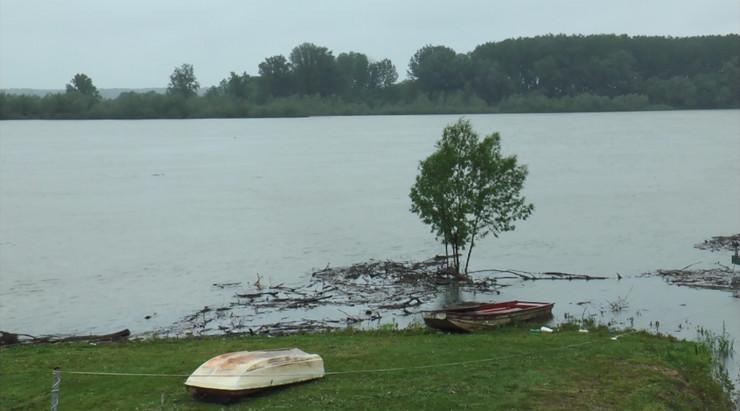 Sava reka vodostaj maj 2019
