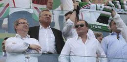 Polityka, biznes, gwiazdy czyli lans na stadionie FOTO