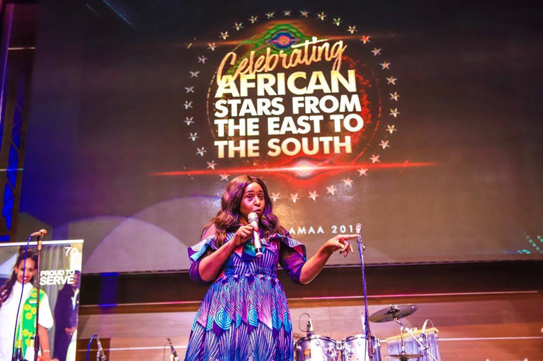 Speaker the gala night held in Enugu by AMAA [AMAA]