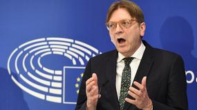 Verhofstadt: propozycja Wielkiej Brytanii ws. unii celnej to fantazja