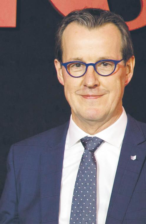 Jaap van 't Ooster, dyrektor zarządzający Canon 4CE  fot. Miron Bogacki/Materiały prasowe