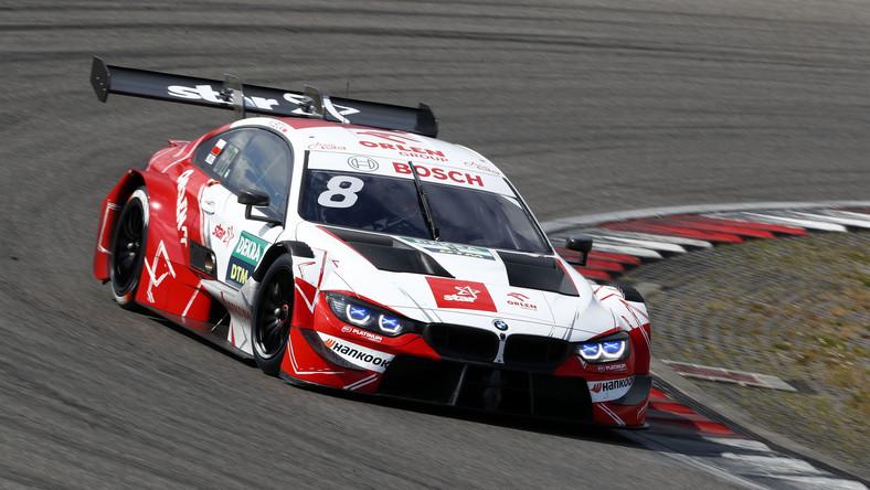 Robert Kubica za kierownicą BMW