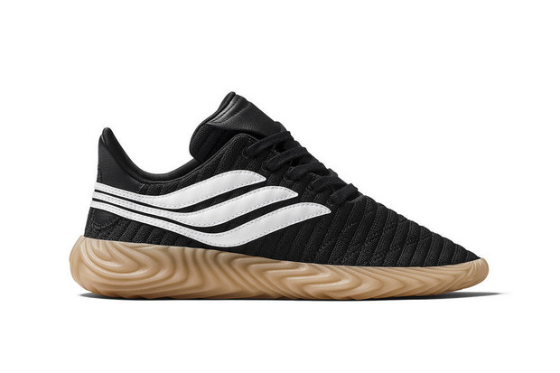 adidas Sobakov in Black/ White Gum