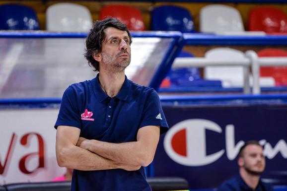 Branko Milisavljević, trener juniora Mega Bemaksa