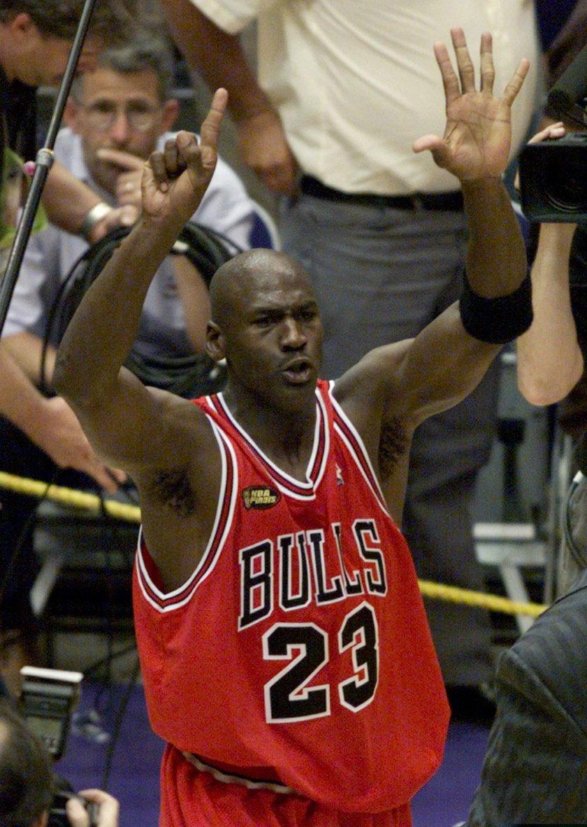 Michael Jordan to najlepszy gracz w historii NBA
