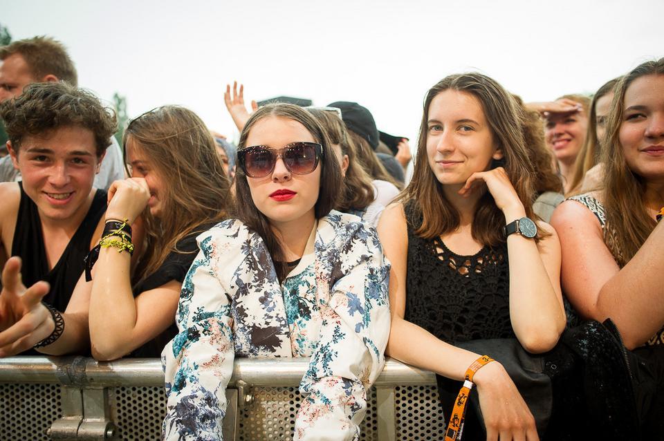 Publiczność na Orange Warsaw Festival 2016