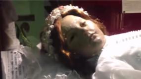 Meksyk: 300-letnia mumia dziewczynki otworzyła oczy