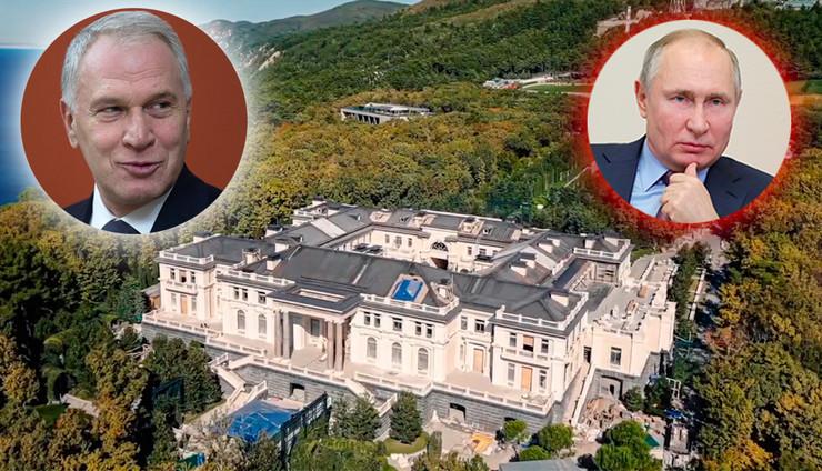 Juri Kovalčuk i Putinova palata