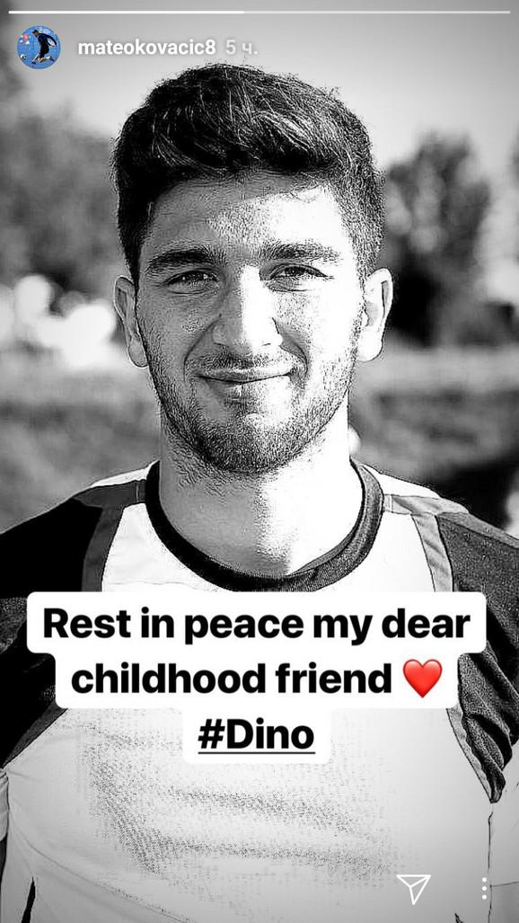 Poruka Matea Kovačića na Instagramu