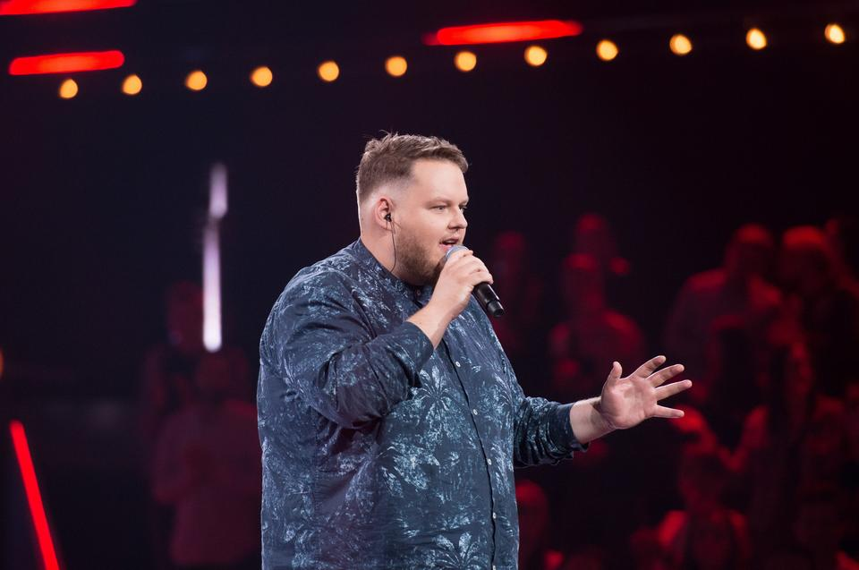 "Wojciech Lechończak w ""The Voice of Poland 11"""