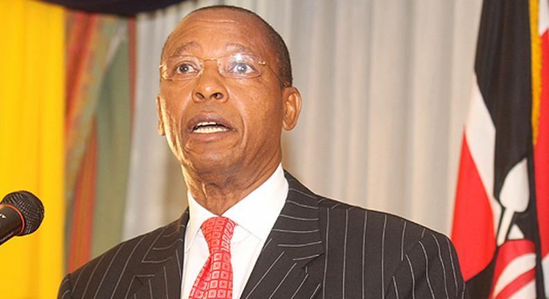 Former Makueni Senator Mutula Kilonzo Senior