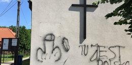 Szokujący wandalizm. Taki napis pojawił się na kościele!