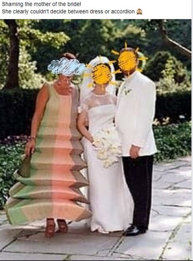 Ljudi ne mogu da se načude haljini