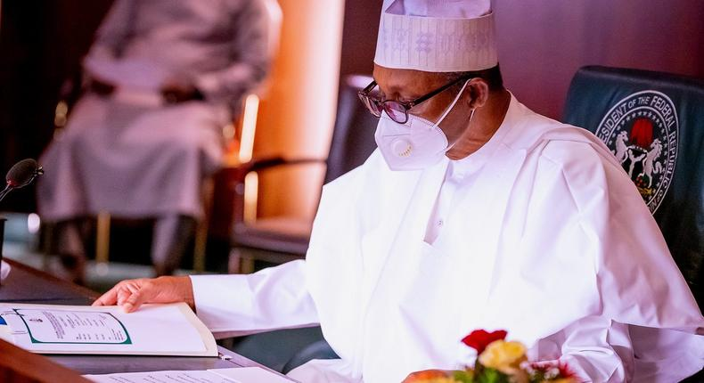 President Muhammadu Buhari has long been criticised for his aloof style of communication since he assumed office nearly six years ago [Presidency]