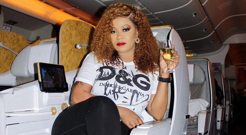 Vera Sidika's message to those claiming Coronavirus is not real