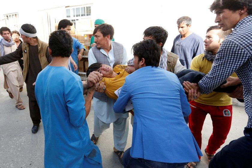 Zamach terrorystyczny w Kabulu