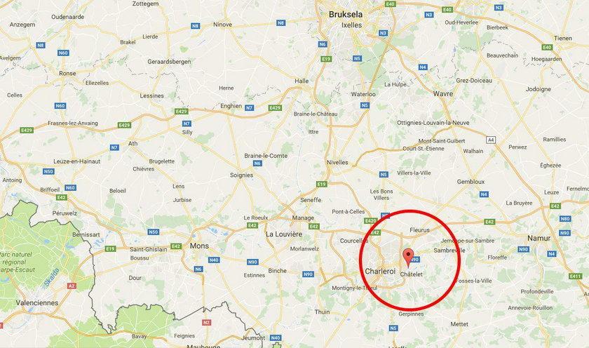 Do napadu doszło 50 km na południe od Brukseli
