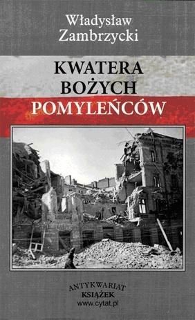 """Władysław Zambrzycki, """"Kwatera bożych pomyleńców"""" (Antykwariat Książek) - 1959 r."""