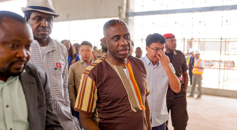 Amaechi meets empty offices during tour of Transport Ministry