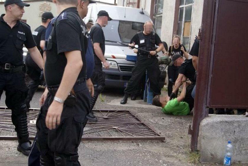 Egzekucja komornicza w zakładzie Famaz