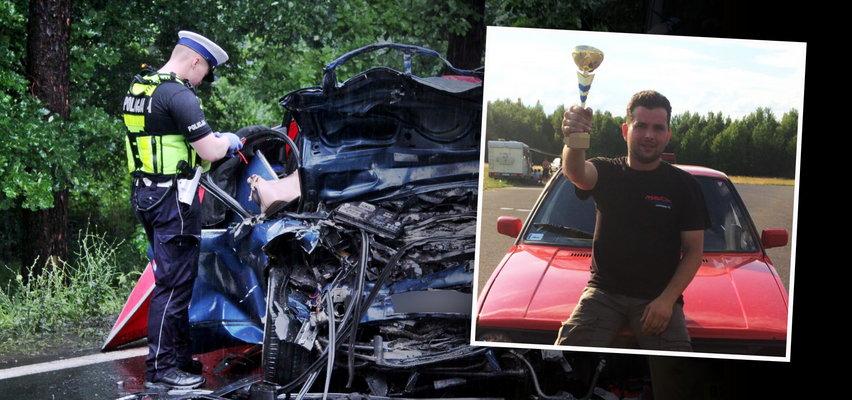 """Koledzy z wyścigów żegnają Mariusza. Zginął z żoną w koszmarnym wypadku w Jamnicy. """"Znalazł się w niewłaściwym miejscu i czasie"""""""