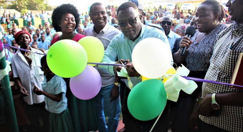A file image of Kilifi Deputy Governor Gideon Saburi at a past official ceremony
