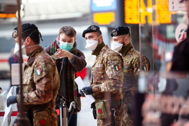 Epidemia koronawirusa we Włoszech, Mediolan, 10.03.2020
