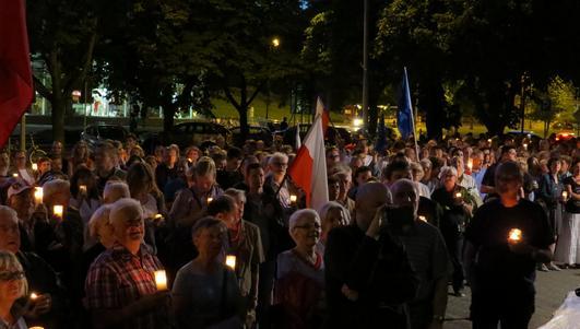 Białystok nie odpuszcza. Kolejny wieczór protestu