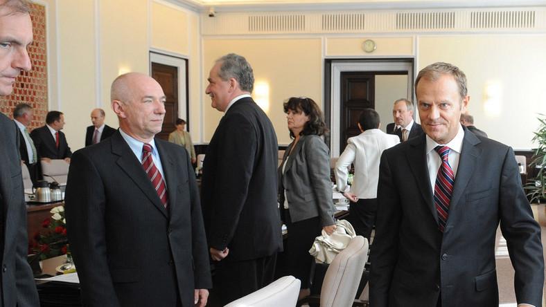 Tusk niezadowolony z ministrów?