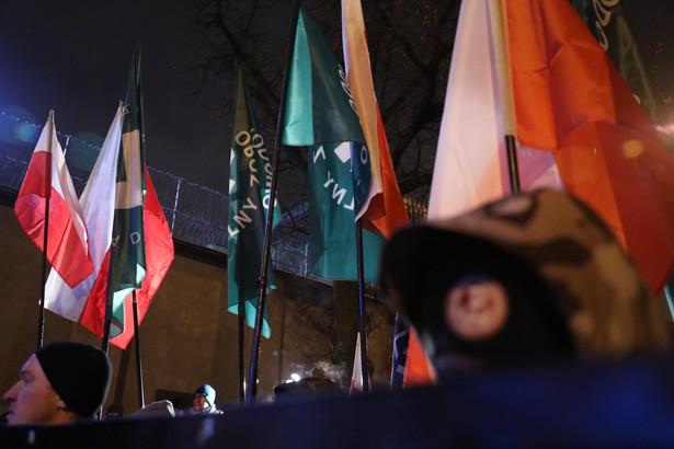 Marsz w Dniu Żołnierzy Wyklętych w Warszawie