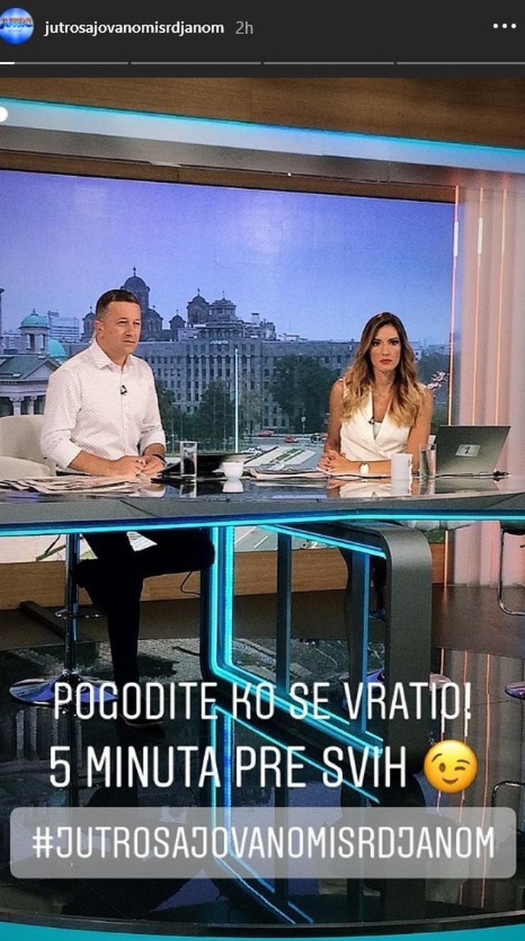Jovana Joksimović, Srđan Predojević